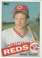 FREE SHIPPING-MINT-1985 Topps #441 Duane Walker Reds PLUS BONUS CARDS