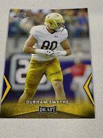 2018 Leaf Draft #22 Durham Smythe - Gold Rookie Card RC