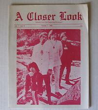 IRON BUTTERFLY A Closer Look 1968 PHOENIX AZ Concert Program/Magazine DONOVAN