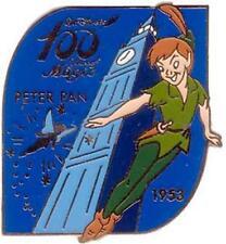 Disney 100 Years of Magic Peter Pan Japan Big Ben pin/pins