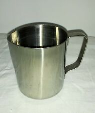 Stainless Steel Milk Water Frothing Pitcher Jug Frothing Milk Approx 300ml