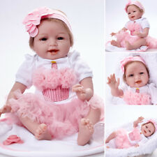 fait à main VINYL doux silicone reborn bébé poupées ultra-réaliste fille chaud