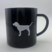 Victoria's Secret Pink Coffee Mug Metal Cup Black  Stainless Steel Mug