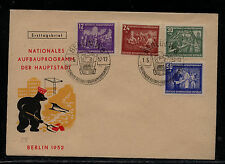 East   Germany B22-25   first day  cachet   cover       KL0906