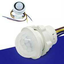 LED PIR Detector Infrared Motion Sensor Switch with Time Delay Adjustable Useful