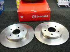 FORD MONDEO LX ST220 01> BREMBO REAR BRAKE DISCS NEW