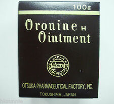 Japanese Otsuka Oronine H Ointment 100 g Acne Chapped Skin Minor Burns, Cuts