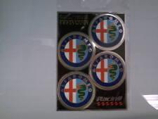 Adesivi copricerchi cerchioni coprimozzo ruota per Alfa Romeo