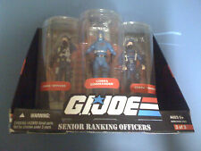 G.I. JOE Senior Ranking Officers: Cobra Officer, Commander+  TRU EX SET