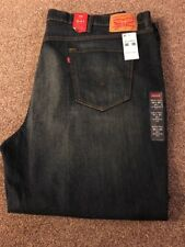 Mens Levis 541 Athletic Fit Jeans - Big & Tall 50x30