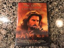 The Last Samurai New Sealed DVD! 2003 Drama Action! Blood Diamond Gladiator Troy