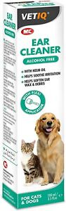 VET STRENGTH Pet Cat Dog Ear Cleaner Drops STOP Shaking Itching Mites Odour Wax