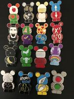 Disney Vinylmation This And That Pins Series #5 Complete Set 16 Pin Set