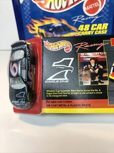 HOT WHEELS RACING EAGLE ONE ROUCH 98 FORD TAURUS #6 MARK MARTIN SPECIAL EDITION