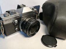 Praktica MTL3 with Carl Zeiss Jena DDR Lens 81523 2.8/50 Lens Plus Case