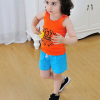 Summer Toddler Kid Unisex Baby Boy Girl Cotton Casual Shorts Fashion Sport Pants
