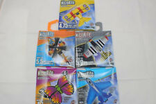 "5 MicroKite Mini 5"" Mylar Kite Butterfly Jet Airplane String Birthday Present"