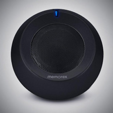 MEMOREX PORTABLE WIRELESS SPEAKER BLUETOOTH RECHARGEABLE BATTERY BLACK-MW303
