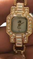 The Nolan Miller Ladies Watch Crystal Very Expensive !!! New Condition