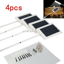 4X 15LED Ultrathin Waterproof Solar Sensor Wall Street Light Outdoor Garden Lamp