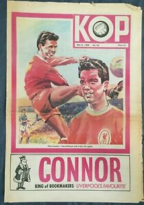 Liverpool FC  -  KOP Newspaper  -  May 8th 1968  -  Issue No 44