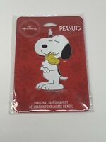 Hallmark Christmas Ornaments Snoopy with Woodstock