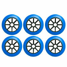 125mm inline skate wheels by Trurev (set of 6 wheels).
