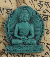 Amuleto Tibetano Budda Amitabha Bodhisattva Tsa Resina Talismano 26519