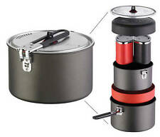 MSR Quick 2 System Camping Pot Pan Cup Bowl Plate Lightweight Compact Set Biker