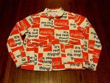 Men's NWT BDG Urban Outfitters UO Coca-Cola Denim Jean Trucker Jacket sz XL