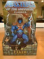 MOTUC,MOTU,FAKER,MASTERS OF UNIVERSE CLASSICS,HE-MAN,SEALED, Brand new!