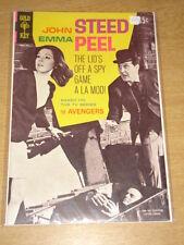 JOHN STEED EMMA PEEL AVENGERS #1 FN (6.0) GOLD KEY COMICS NOVEMBER 1968