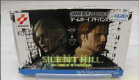 GBA Silent Hill Box and Manual Game Boy Advance from JP Game FS