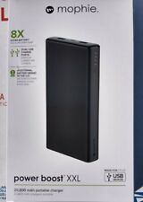 Mophie Power Boost XXL Universal External Battery 8 Charges 20800mAh Black