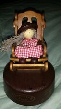 Vintage Humming Farms Musical Rocking Chair