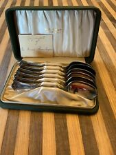 Antique H.E Eckert Jewelers Silver Spoon Set