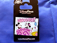 Disney * MICKEY & MINNIE in SPARKLE TEA CUP - WHOOSH! * New on Card Trading Pin