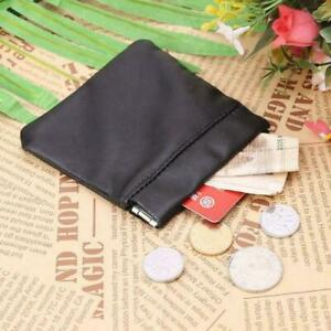 Mens womens leather SPRING snap top COIN purse pouch high quality free p&p SprCn