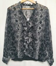 Worthington Snake Print Blouse Size XLarge NWT work top