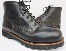 Eastland Made in Maine Readfield USA Black Plain Toe Men's Boots Size 10 D