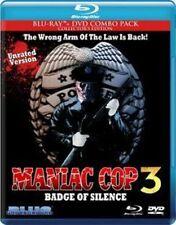 Maniac Cop 3 Badge of Silence 0827058704496 With Robert Z'dar Blu-ray Region a