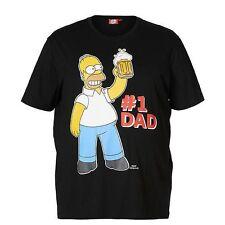 NEW Homer Simpson No. 1 Dad T-Shirt - Label Size 5XL (Fits AUST 6XL)