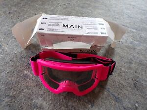 Racing Youth Main Stray Motocross MX Offroad Goggle Pink; s2