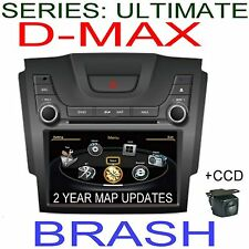 "8"" ISUZU DMAX 2012+ GPS DVD NAVI OZI EXP BLUETOOTH STEREO AM/FM &CCD CAMERA"