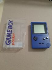 Nintendo Gameboy Game Boy Pocket MGB-001 Blau + OVP / Case
