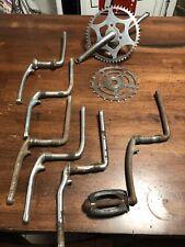 Vintage Schwinn & Other Brands Bicycle Cranks and Sprockets Vtg Bike Parts