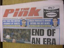 19/05/2001 Coventry Evening Telegraph The Pink: Main Headline Reads: End Of An E