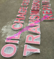 18'' Channel Letters, 3D outdoor Signs,custom size and letter font,power include