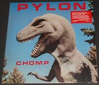 PYLON chomp USA LP new sealed REMASTERED REISSUE black vinyl DIE-CUT COVER