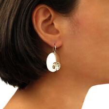 Circle Earrings 925 Sterling Silver